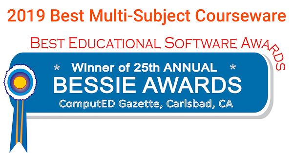 2019 best multi-subject couorse work