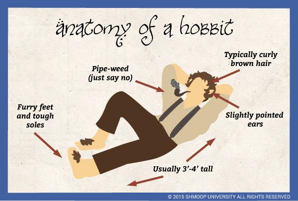 anatomy of a hobbit