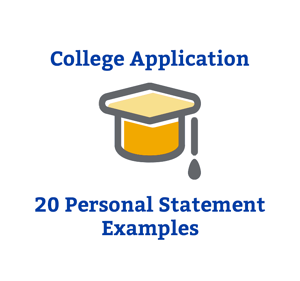 college application 20 personal statements