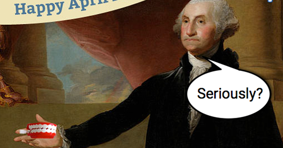 george washington seriously