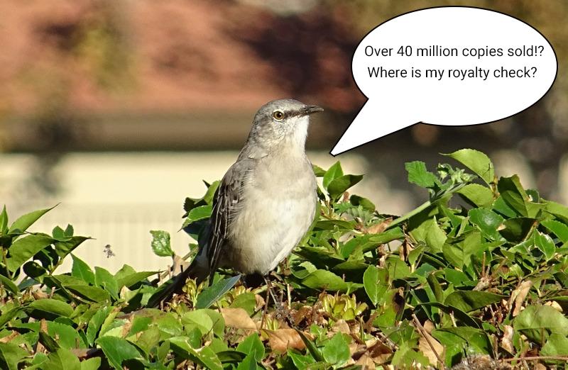 mockingbird royalty check